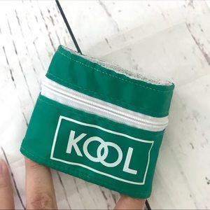 Vintage Bags - Vintage 1980's Kool wristlet fanny pack wallet